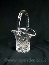 Crystal Glass Small Poise Basket