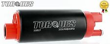 TORQUES 340 Ltrs/hr In Tank Fuel Pump GM Inlet Design #11817