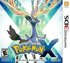 Pokemon X (Nintendo 3DS, 2013) Works perfect, includes case!!
