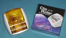 NIB MAGNETIC PAPER CLIP ROLLER/DISPENCER w/ PAPER CLIPS