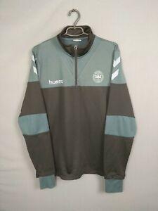 Denmark Pullover Sweater Size MEDIUM Training Zipped Sweatshirt Mens Hummel ig93