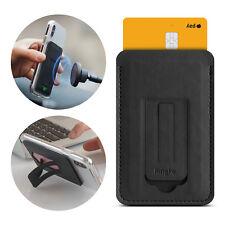 Ringke Universal Multi Phone Card Holder 3M Adhesive with Kickstand, Metal Plate