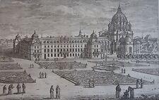 PÉRELLE ADAM (1638-1695) : La vue du monastère Royal du Val de Grace,17 ème