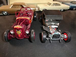 2 Ford Hot Rod Rat Rod built kits Flat head