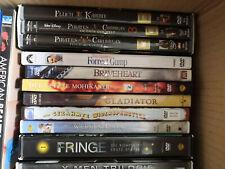 DVD Paket mit 48 Filmen und 1 Staffel Fringe (Serie), Steelbooks, Klassiker