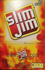 Slim Jim 120 Sticks, 0.28 oz/each, Original Smoked Snack, Free of Shipping