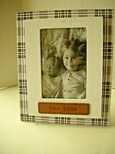 """Picture Frame By Young's, The Kids Theme, 9"""" x 7"""", Wood, Brand New"""