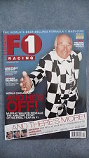 F1 Racing Magazine for the Month of November 2001. Excellent Condition.