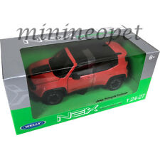 WELLY 24071 JEEP RENEGADE TRAILHAWK 1/24 DIECAST MODEL CAR ORANGE