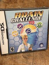 BRAIN CHALLENGE video game (Nintendo DS, 2008) Brand New & Sealed!