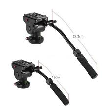 Video Camera Hydraulic Panoramic Head for Canon Nikon Sony DSLR Shooting Filming