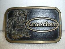 Belt Buckle Dyna Buckle Americut/Weldon Tool roughing end mills USA Provo Utah