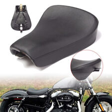 US Motorcycle Driver Solo Seat Front Saddle Pad For Harley Sportster 883 1200 us