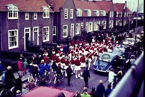 1970s Band Parade Netherlands Europe 35mm Slide Vintage D688