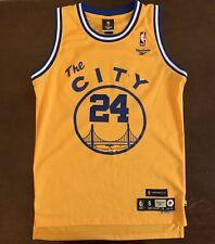 Vintage Reebok HWC NBA Golden State Warriors Rick Barry Throwback Jersey a21376f25