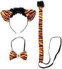 Panthera Tiger Set 3-teilig NEU - Zubehör Accessoire Karneval Fasching