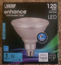 FEIT Electric 120 watt PAR38 LED Bulb 1400 lumens Daylight Floodlight FREE  SHIP