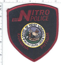 Nitro Police (West Virginia) Shoulder Patch from the 1980's
