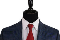 ETRO NWT Sport Coat Size 44R In Navy, Blue and Brown Plaid