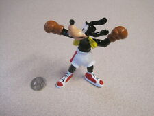 """Disney 1990s Goofy """"The Boxer"""", Good Luck Figure From Germany, 3.5 inches - New"""