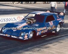 Blue Max Raymond Beadle NHRA Top Fuel Funny Car 8x10