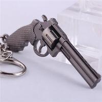 Hot Game Cross Fire Weapon Gun Key Chains CF Metal Pistol Keychains Key Rings