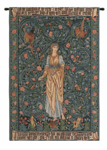 Flora I European Tapestry Wall Hanging