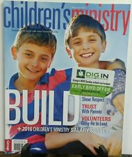 Children's Ministry May June 2016 Build Trust With Parents FREE SHIPPING