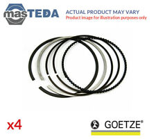 4x ENGINE PISTON RING SET GOETZE 08-990100-00 G STD NEW OE REPLACEMENT