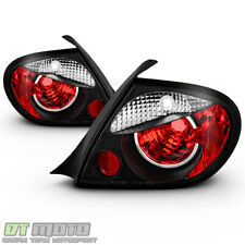 Black 2003-2005 Dodge Neon 4-D00r Sedan Tail Brake Lights Brake Lamps Left+Right (Fits: Dodge Neon)