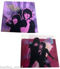PACK OF 2 FACE CLOTHS DISNEY CAMP ROCK LILAC PURPLE DEMI LOVATO JOE JONAS