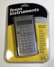 SILVER Texas Instruments BA II Plus Professional Scientific Calculator NewSealed