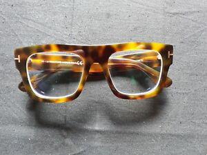 Tom Ford  TF 5634B color 056 havana turtle size 53 20 145 optical eyeglasses