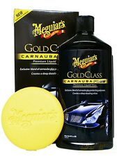 Meguiar's GOLD GLASS CARNAUBA PLUS Premium Liquid Wax CREATES A BRILLIANT SHINE