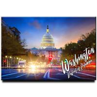 Washington fridge magnet Capitol USA travel souvenir District of Columbia