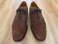 Church's Custom Grade REAL CAPE BUCK Brown Mens Shoes Handmade UK 6 F England