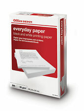 Office Depot A4 80gsm Everyday Printer Copy Paper 1 box 5 reams 2500 sheets