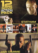 12 MOVIE ACTION PACK FACTORY SEALED DVD FREE SHIP GREAT GIFT
