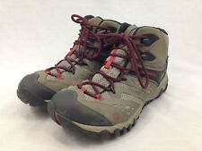 Merrell Hiking Boots Womens 11 Brown M-Connect Series High Top Lace Up Trail