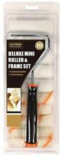 MINI PAINT ROLLER KIT SET 11 PC GLOSS EGGSHELL  AND EMULSION OPTION Dulux roll