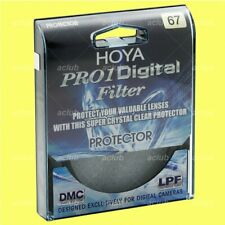 Genuine Hoya 67mm Pro1D Digital Lens Protector Clear Filter
