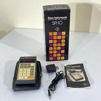 Vintage Texas Instruments SR-10 Handheld Electronic Calculator Circa 1973 - 1975