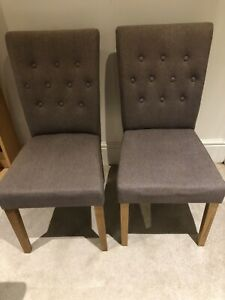 10 x Loaf Dining Chairs Mixed Condition