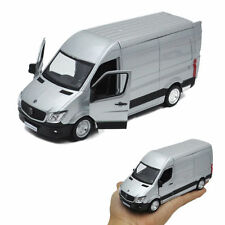 Silver MERCEDES SPRINTER Van Diecast Toy Model