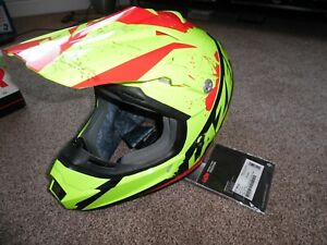 LAZER  X7 MOTOCROSS HI VIZ BRAND NEW + WITH TAGS SIZE LARGE