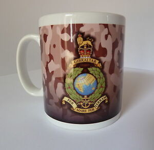 Royal Marine Commando Mug Gift Present Full Colour Graphic Personalised For Free
