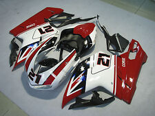 ABS Plastic Fairing Bodywork For DUCATI 1098 848 1198 2007-2012 08 09 10