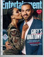 Entertainment Weekly Sept 28 2018 magazine Grey's Anatomy cast members secrets