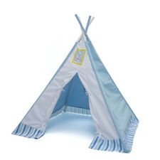 Labebe Large Blue Sail Boat Kids Teepee Tent Indoor/Outdoor Play