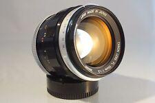 RARE! CANON FD / FL 55mm f 1.2 LENS. MINT, + EXTRAS + SONY E MOUNT ADAPTER
